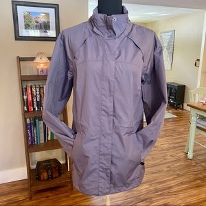 EDDIE BAUER Waterproof/Windproof Jacket Purple
